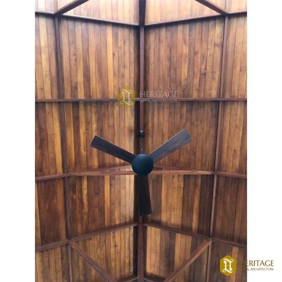 Teak Wood Beam Ceiling