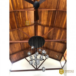 Teak Wood Beam Ceiling