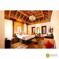 Travancore Style Wooden Ceiling