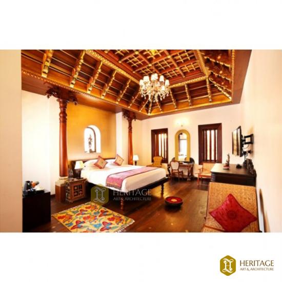 Travancore Style Wooden Ceiling