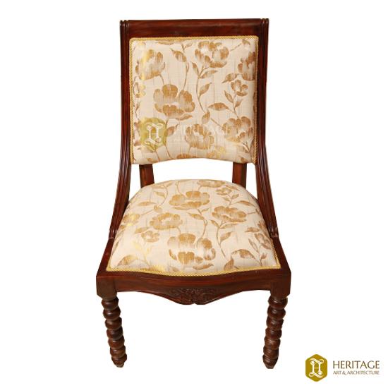 Contemporary Cushion Wooden Chair