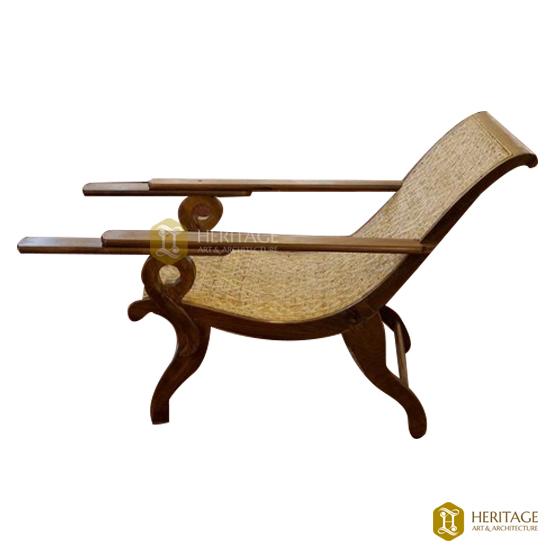 Malabar Teak Wood Easy Chair