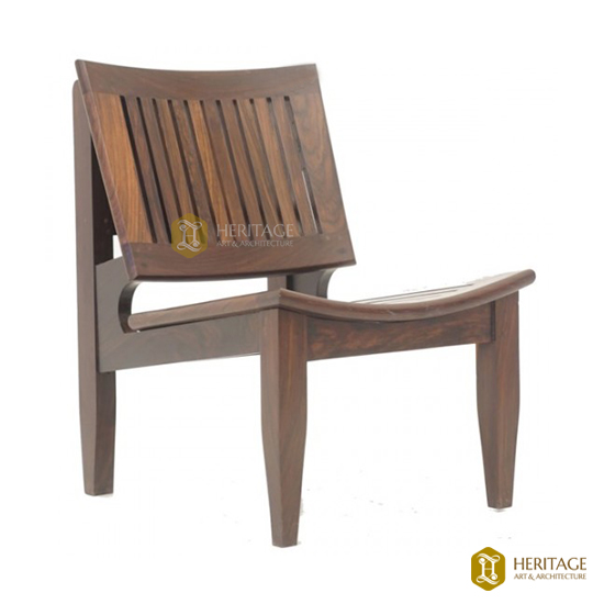 Rosewood Low Chair