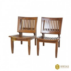 Teak wood Low Chair