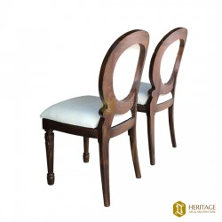 Teakwood Chairs with Cushion