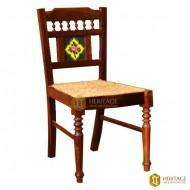 Vintage Style Wood Tile Chair