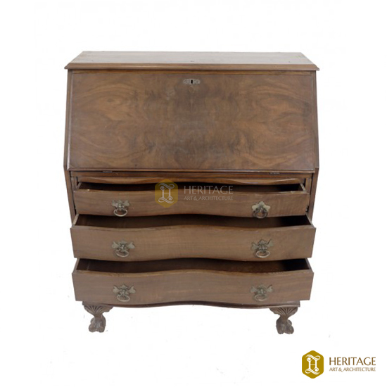 Vintage Wooden Writing Desk