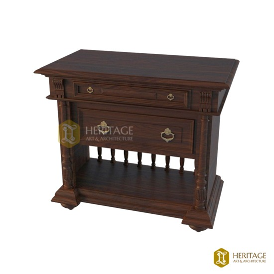Colonial Style Side Table