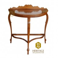 Semicircle Living Room Console Table