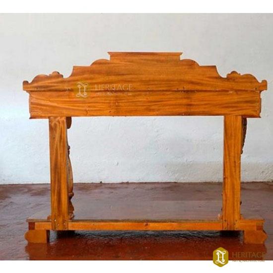 Teak Wood Console Table