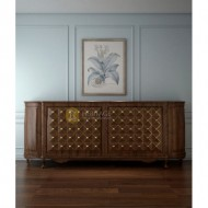Teak Wood Console With Storage