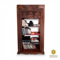 Chettinad Style Door Converted Book Shelf