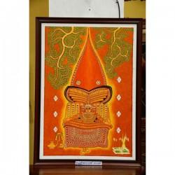 Uchoolikkadavathu bhagavathi mural paintings
