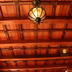 Elephant Bracket Wooden Ceiling