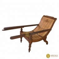 Kovilakam Style Easy Chair with Adjustable Arms