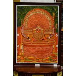 Muchilott Bhagavathi mural painting