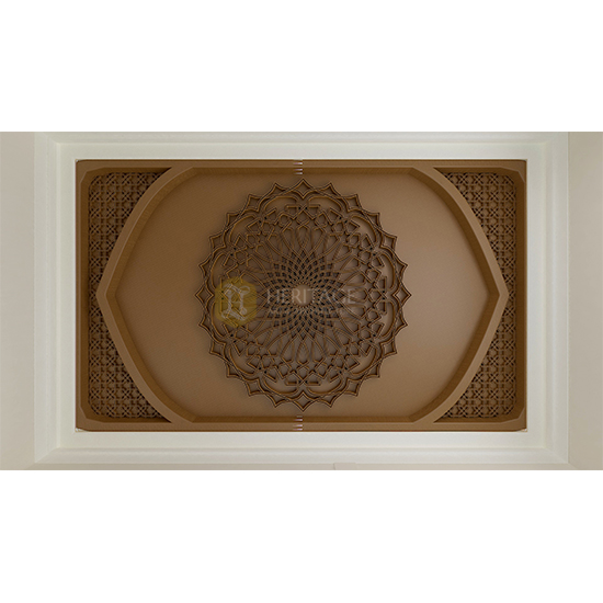 Mughal Style Wooden Ceiling