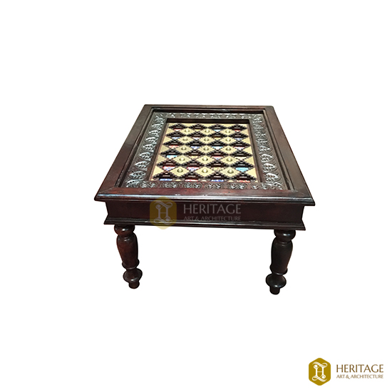 Mughal Style Wooden Coffee Table