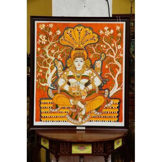 Naga devatha mural painting