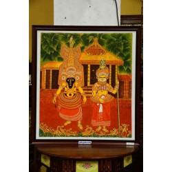 Sri muthappan mural painting