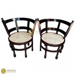 Teak Wood Burgermeister Chair
