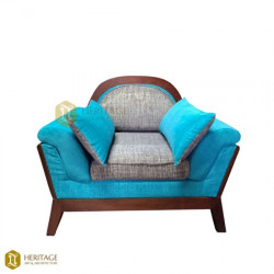 Teak Wood Cushion Sofa