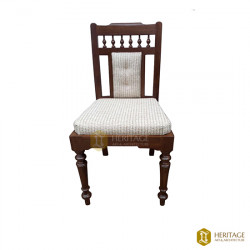 Teakwood Dining Chair With Cushion