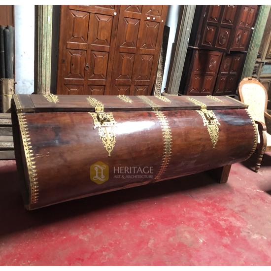 Traditional Rice Storage Box