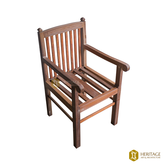 Wooden Square Chair