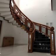 Wooden Stair Case Rail