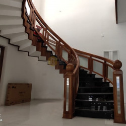 Wooden Stair Case Rail