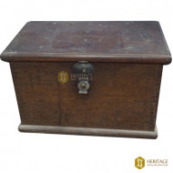 Wooden Trunk with Metal Latch