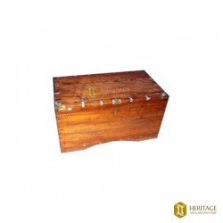 Traditional Wooden Trunk Plain
