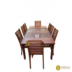Travancore Style Traditional Dining Table Set