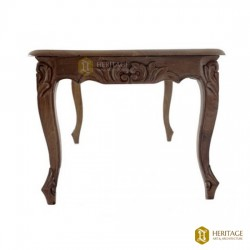 Antique Style Wooden Carved Table