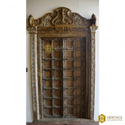 Antique Chettinad Wooden Door