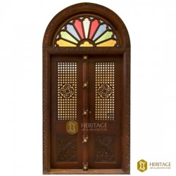 Antique Traditional Kerala Door