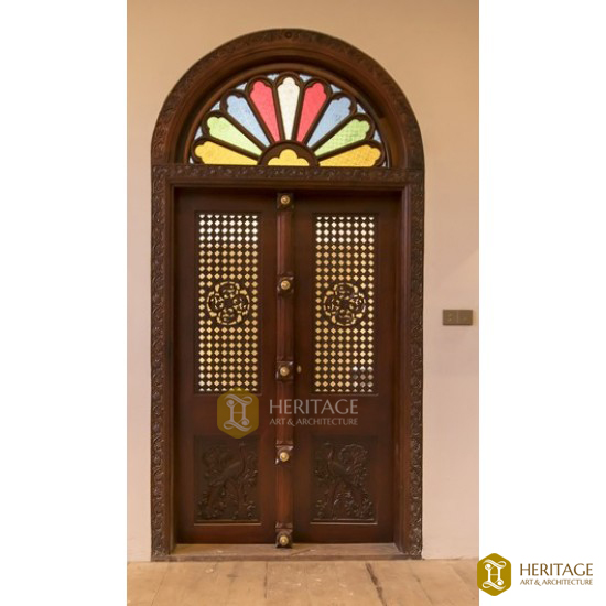 Antique Style Traditional Kerala Door