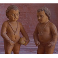 Antique Terracotta Figures