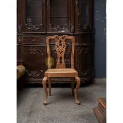 Antique Style Wooden Side Chair