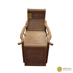 Wooden Recliner Chair