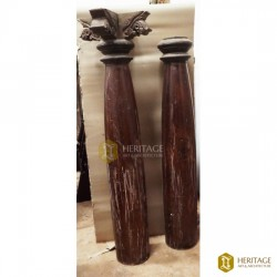 South Indian Antique Wooden Pillars