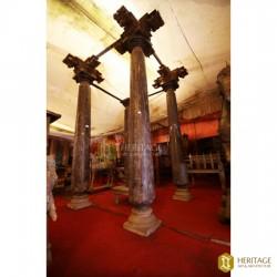 vintage pillars
