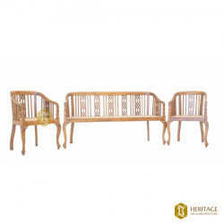 Classic Wooden Sofa Set