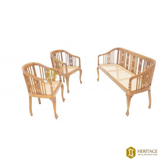 Classical Wooden Sofa Set
