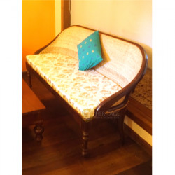 Curved Cane Cushion Sofa Set
