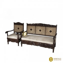Rose Wood Sofa Set