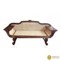 Vintage Style Cane Woven Sofa Set