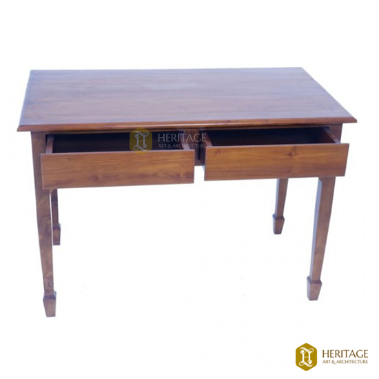 Wooden Table with Storage