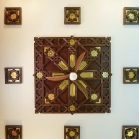Brass-inlaid Ceilings-heritage-arts-cochin